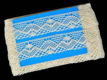 Bobbin lace No. 81294 ecru | 30 m - 3