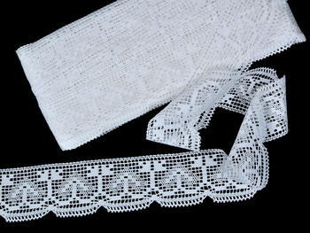 Bobbin lace No. 81317 white | 30 m - 3