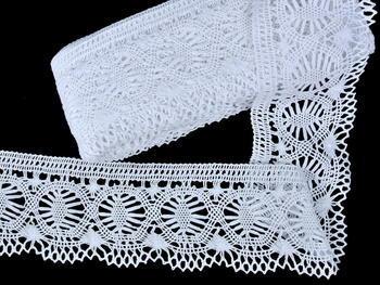 Bobbin lace No. 81673 white | 30 m - 3