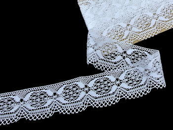 Bobbin lace No. 81829 white | 30 m - 3