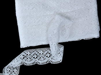 Bobbin lace No. 81909 white | 30 m - 3