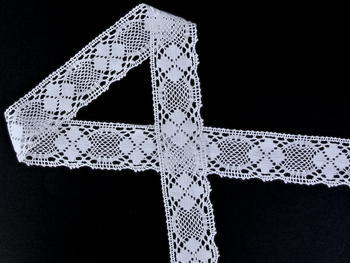 Bobbin lace No. 82116 white | 30 m - 3
