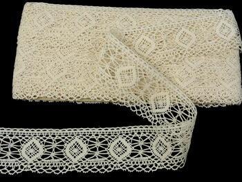 Bobbin lace No. 82128 ecru| 30 m - 3