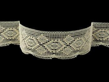 Bobbin lace No. 82132 ecru | 30 m - 3