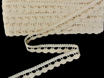 Bobbin lace No. 82138 ecru | 30 m - 3