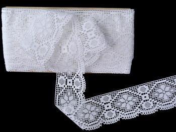 Bobbin lace No. 82147 white | 30 m - 3