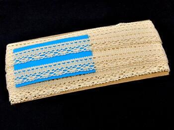 Bobbin lace No. 82152 ecru | 30 m - 3