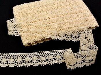 Bobbin lace No. 82171 ecru   30 m - 3