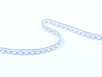 Paličkovaná krajka vzor 82195 světle modrá | 30 m - 3