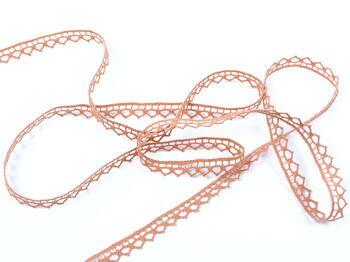 Bobbin lace No. 82195 salmon pink | 30 m - 3