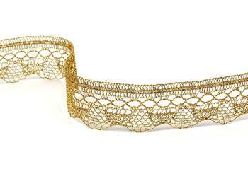 Bobbin lace No. 82216 gold | 30 m - 3