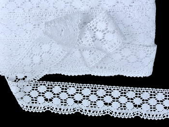 Bobbin lace No. 82220 white | 30 m - 3