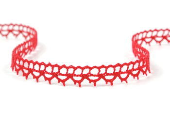 Bobbi lace No. 82226 light red | 30 m - 3