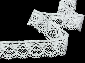 Bobbin lace No. 82283 white | 30 m - 3