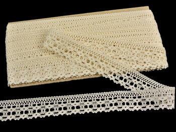 Bobbin lace No. 82300 ecru | 30 m - 3