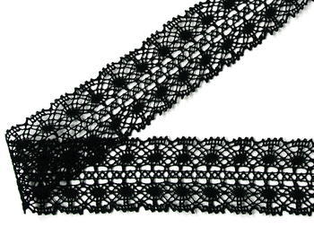 Bobbin lace No.  82309 black | 30 m - 3