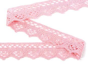 Bobbin lace No. 82332 pink | 30 m - 3