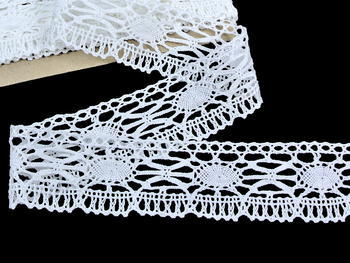 Bobbin lace No. 82335 white | 30 m - 3