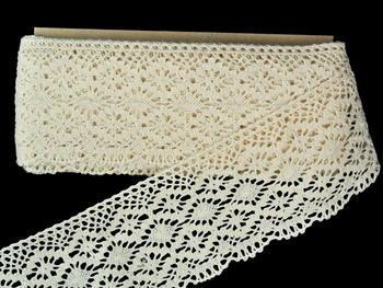 Bobbin lace No.82336 ecru | 30 m - 3