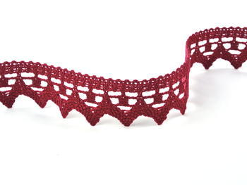 Bobbin lace No. 82341 red bilberry | 30 m - 3