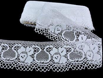 Bobbin lace No. 88018 white | 30 m - 3