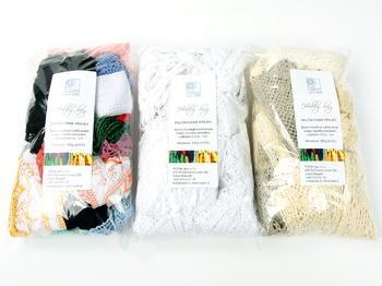 Hobby bag - bobbin laces ecru   200 g - 4