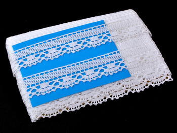 Bobbin lace No. 75005 white | 30 m - 4
