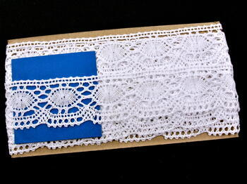 Bobbin lace No. 75032 white | 30 m - 4