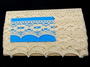 Bobbin lace No. 75050 ecru | 30 m - 4