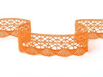 Bobbin lace No. 75077 rich orange | 30 m - 4