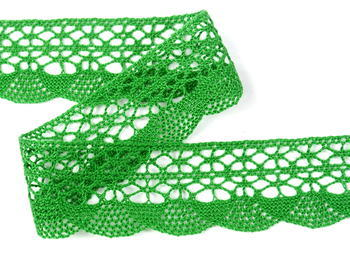 Bobbin lace No. 75077 grass green | 30 m - 4