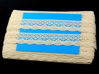 Bobbin lace No.75077 ecru | 30 m - 4