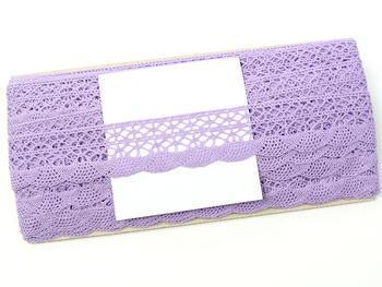 Paličkovaná krajka vzor 75077 purpurová III. | 30 m - 4
