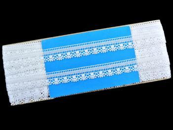 Bobbin lace No. 75079 white | 30 m - 4
