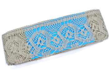 Bobbin lace No. 75096 natural linen | 30 m - 4