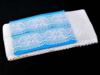 Bobbin lace No. 75105 white | 30 m - 4