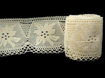Bobbin lace No. 75112 ecru | 30 m - 4