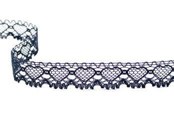 Bobbin lace No. 75133 black | 30 m - 4