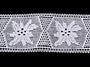 Paličkovaná vsadka vzor 75168 bílá | 30 m - 4/5