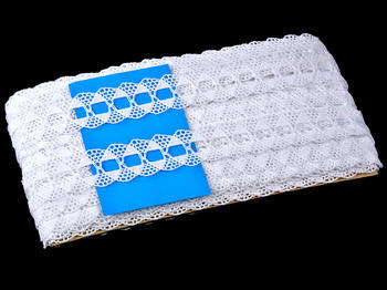 Bobbin lace No. 75170 white | 30 m - 4