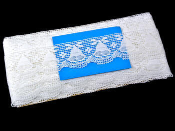 Bobbin lace No. 75176 white | 30 m - 4