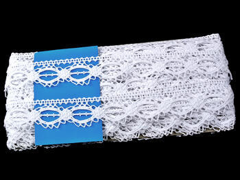 Bobbin lace No. 75179 white | 30 m - 4