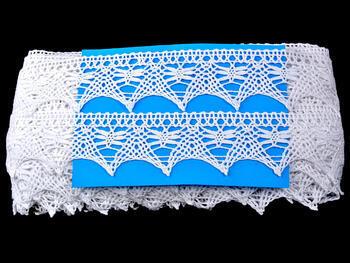 Bobbin lace No. 75186 white | 30 m - 4