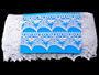 Bobbin lace No. 75186 white | 30 m - 4/4