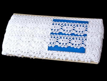 Bobbin lace No. 75187 white | 30 m - 4