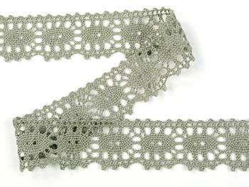 Bobbin lace No. 75187 dark linen | 30 m - 4