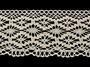 Cotton bobbin lace 75188, width 100 mm, ecru - 4/4