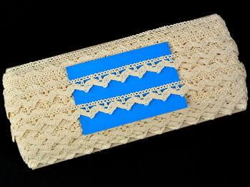 Bobbin lace No. 75207 ecru | 30 m - 4