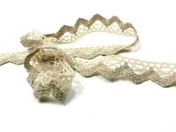 Bobbin lace No. 75220 ecru/light linen   30 m - 4
