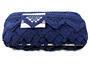 Paličkovaná krajka vzor 75221 modročerná | 30 m - 4/4